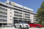 La sede Opel a Ruesselsheim, in Germania