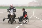 Disabili in pista per corsi guida (Archivio)