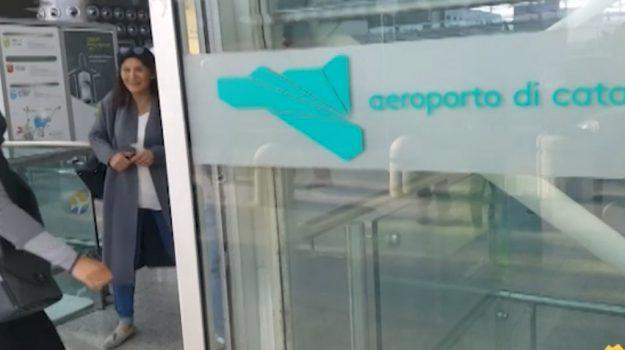 aeroporti, trasporti, Catania, Economia