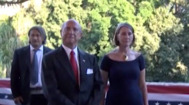 Per la prima volta a Palermo Eisenberg, ambasciatore degli Stati Uniti: l'intervista