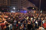 La manifestazione di solidarietà ad Aquarius a Palermo