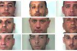 Traffico di cocaina e marijuana: nomi e foto degli arrestati dopo il blitz a Catania