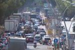 Lavori sul ponte Corleone, il caos lungo viale Regione Siciliana