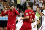 """Iran-Portogallo, CR7 segna """"solo"""" un rigore su due"""