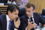 Caos sull'accordo europeo sui migranti e tra Conte e Macron è scontro