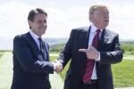 Giuseppe Conte e Donald Trump