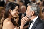 """Amal parla per la prima volta in pubblico del marito George Clooney: """"E' un vero gentiluomo"""""""