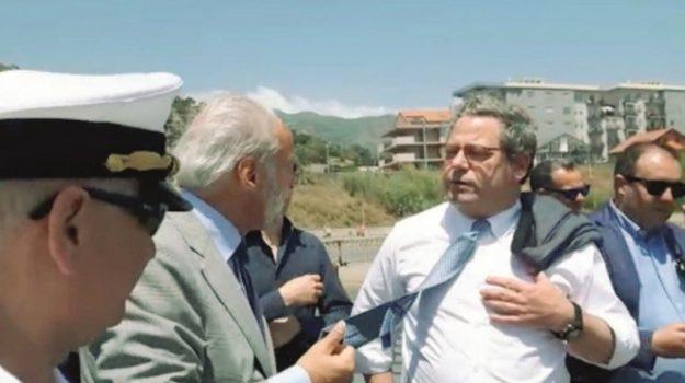 autorità portuale messina, Gianfranco Miccichè, Messina, Politica