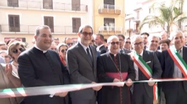 Restauro finito dopo 5 anni, riapre la chiesa Madre a Partanna