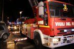 Incendio nella notte a Ragusa, a fuoco una parte dell'ex ditta Ancione