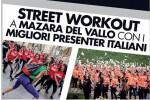 Un percorso fitness tra le vie della città: a Mazara un nuovo evento di Street Workout