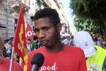 """""""Giustizia per Soumaila"""", a Palermo il corteo di protesta per il migrante ucciso"""
