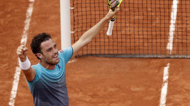 cecchinato roland garros, Marco Cecchinato, Novak Djokovic, Sicilia, Sport