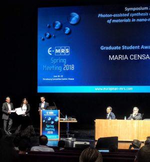 Fisica, giovane di Leonforte premiata tra i migliori scienziati d'Europa