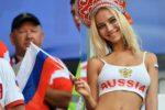 Mondiali 2018, la bella bionda sugli spalti è un'attrice porno