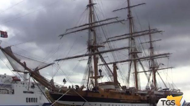Fa tappa a Palermo la nave scuola Amerigo Vespucci