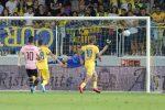 Dal rigore non dato ai palloni in campo: le immagini dell'amaro ko del Palermo a Frosinone
