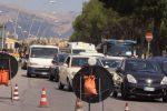 Palermo, traffico paralizzato sul ponte Corleone anche per un incidente tra un'auto e una moto