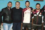 Il presidente Parrinello col sindaco Giacalone, Lodato e Catania