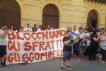 """Palermo, senza casa in presidio davanti all'assessorato: """"No a sfratti e sgomberi"""""""