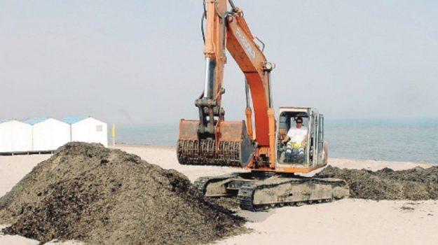 pulizia spiagge trapani, Trapani, Cronaca