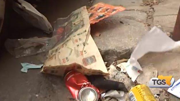 Spazzamento assente e rifiuti abbandonati, emergenza a Palermo
