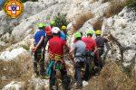 Soccorso alpino e speleologico siciliano, addestramento sui Monti Iblei