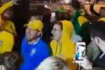 Tifosi in festa, arriva il Brasile