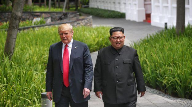 vertice trump kim, Donald Trump, Kim Jong-un, Sicilia, Mondo