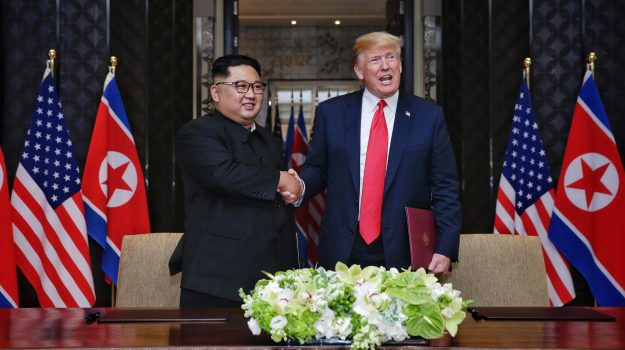 corea del nord - usa, Incontro Trump Kim, Donald Trump, Kim Jong-un, Sicilia, Mondo