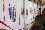 La scuola si colora, il D'Acquisto di Bagheria rinnova la facciata con un murale
