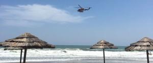 I soccorsi alla Playa di Catania