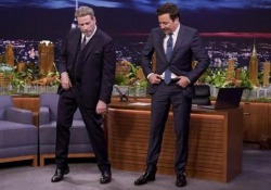 L'attore, 64 anni, ospite di Jimmy Fallon nel Tonight Show