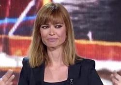 La telegiornalista a Sorrento ha ritirato il premio dedicato al marito scomparso lo scorso marzo