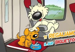 Biglietto gratis a tutti i cani di grossa taglia, con peso superiore a 10Kg