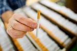 Una sigaretta tradizionale