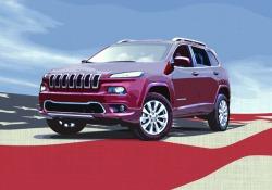 Per rapporto Top American Cars la Jeep Cherokee di FCA il modello con il maggiore contenuto Usa