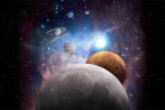 Rappresentazione grafica del Sistema Solare (fonte: NASA)