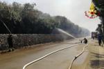In Sicilia è già allarme incendi, ieri 190 interventi dei vigili del fuoco