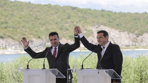 accordo grecia macedonia, Sicilia, Mondo