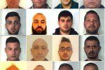 Mafia, sgominato il clan di Paternò: nomi e foto degli arrestati