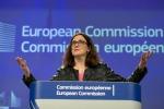 Malmstroem, Italia preoccupata su protezione Ue investimenti