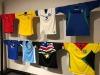 Passione calcio, tutte le maglie delle nazionali in mostra