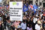 Brexit: manifestazione pro-Ue a Londra chiede 2/o referendum