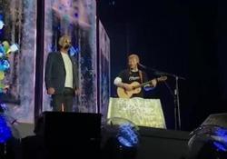 Bocelli duetta con Ed Sheeran