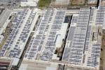 Seat, a Martorell fotovoltaico grande 40 campi da calcio