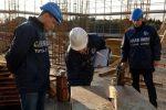 Lavoro nero, sospesi quattro cantieri edili a Villabate: sei denunciati