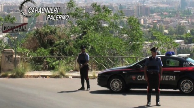arresti monreale, blitz mafia, Palermo, Cronaca