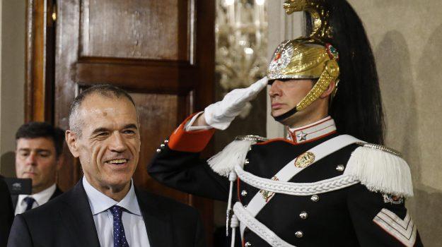 Governo M5s Lega, nuovo governo, Carlo Cottarelli, Sicilia, Politica