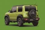 Come l'attuale, anche il prossimo Suzuki Jimny conserva un design da vero fuoristrada